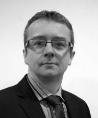 Photo of Iain Gould, a solicitor who specialises in actions against the police.