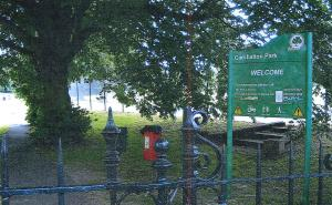 Picture of Carshalton Park, Surrey, where Luke Appleyard was attacked by a police dog which led to him suing the police.
