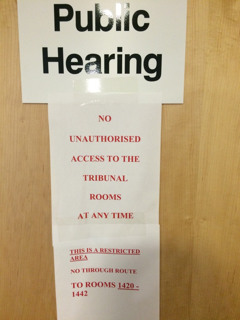 Public Police Disciplinary Notice.